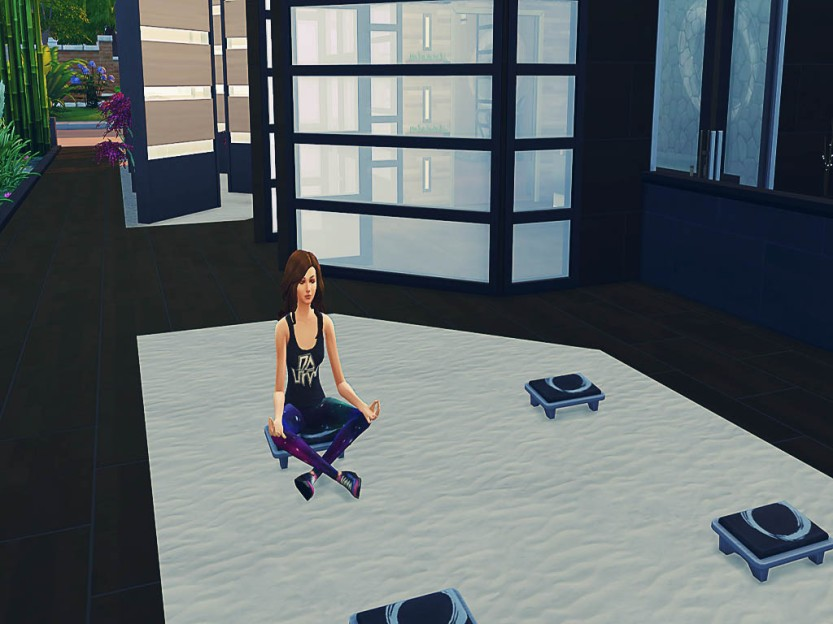 Aaaand She's Still Meditating