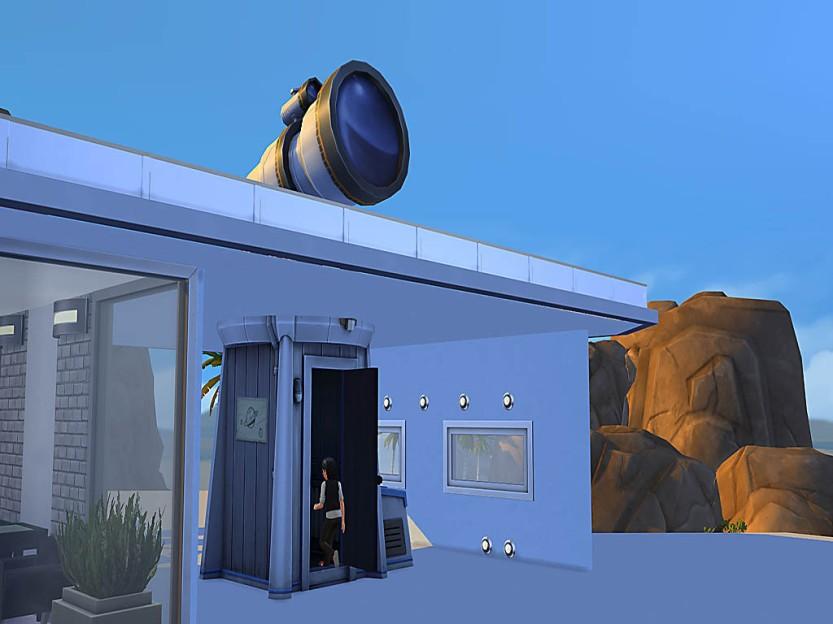 Alex Jumps Into Observatory