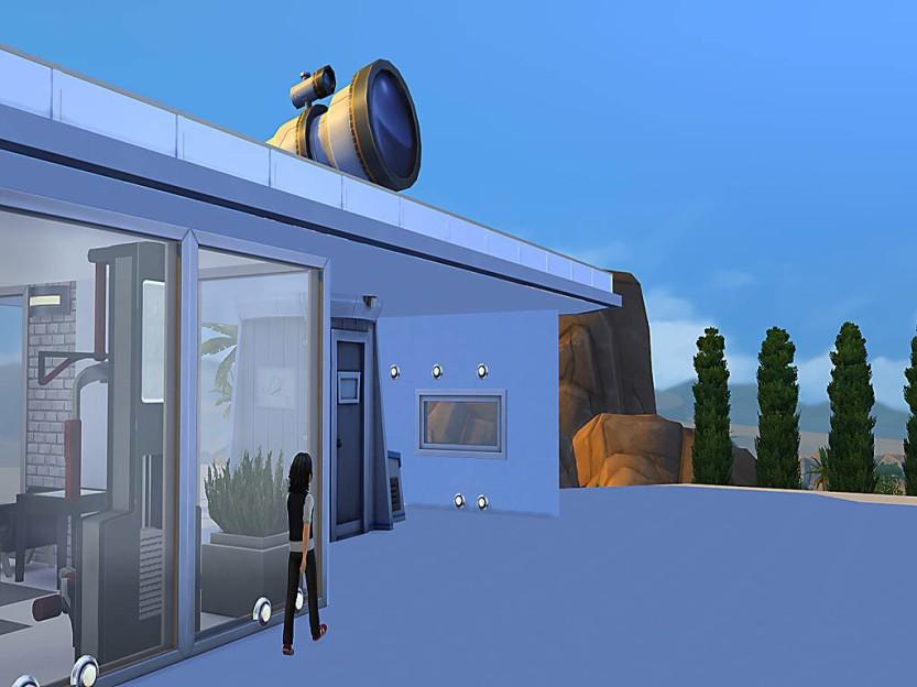 Alex Walks To Observatory