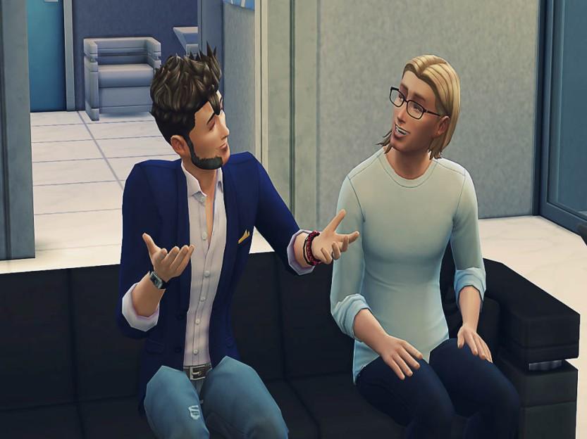 Dash Talks To Elder
