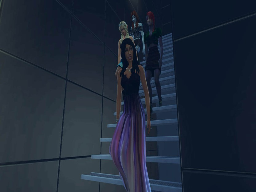Descending the Stairs 2