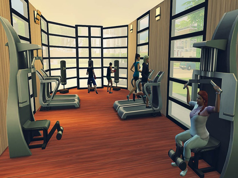 Many Simselves Much Gym