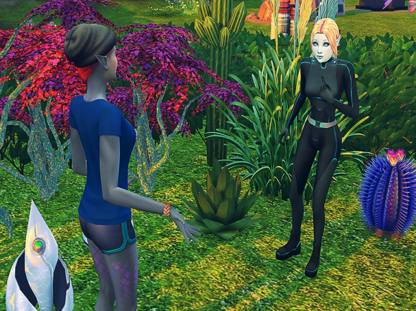 Nakaia Chatting With Shaela 3