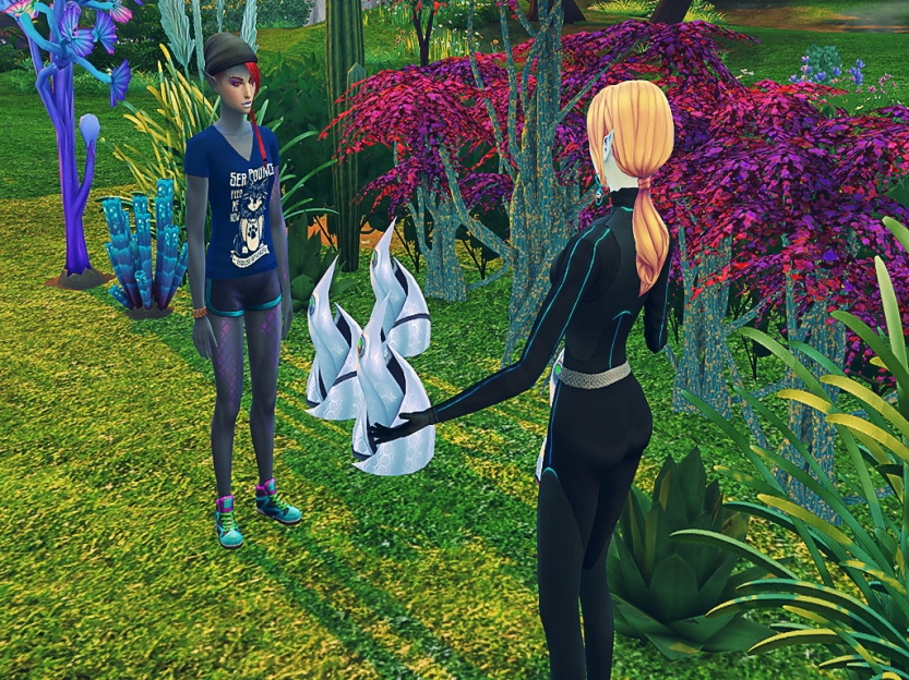 Nakaia Chatting With Shaela 4