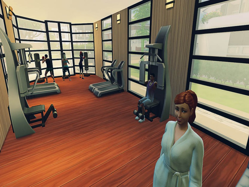 Simself Gym Time