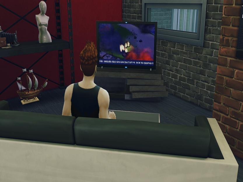 Joe Watching News Again