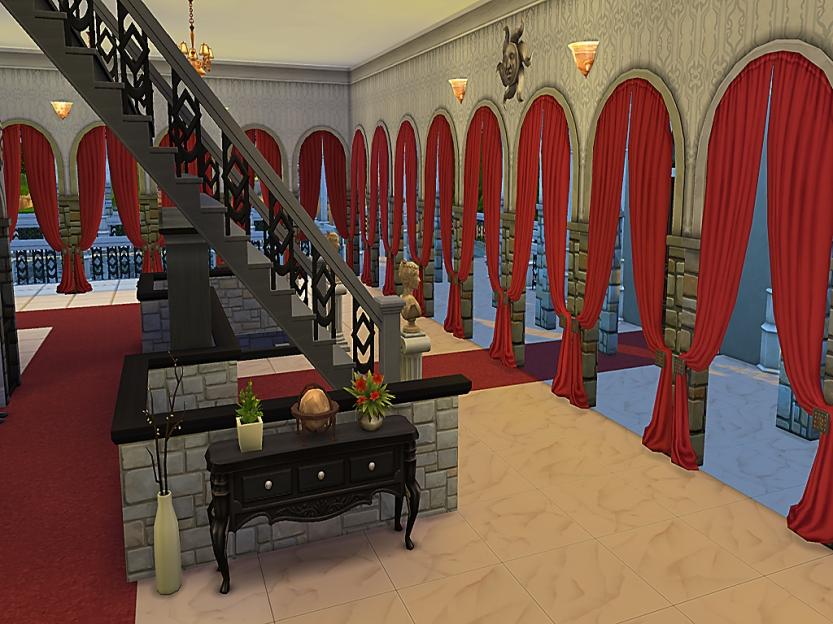 Meatball Mansion Main Hall